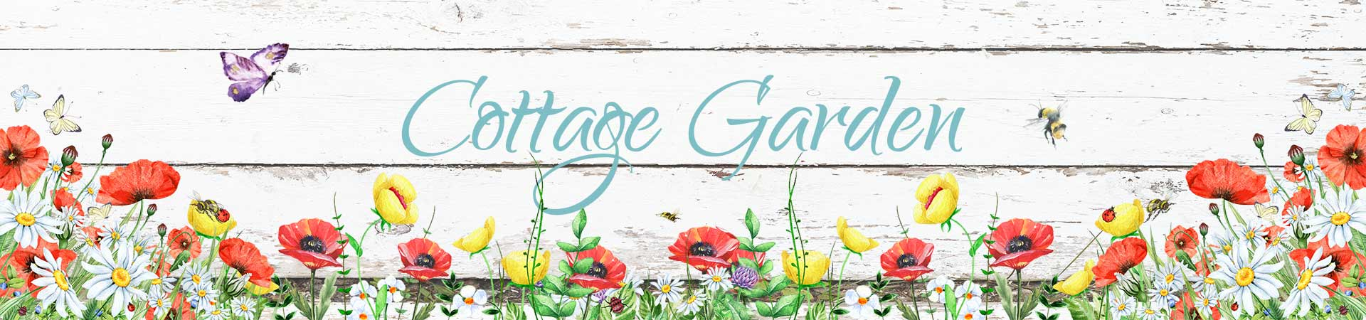 Cottage garden header