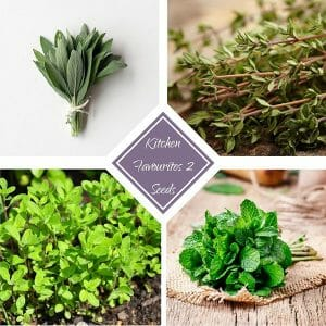 Kitchen favourites 2 - seed bundle