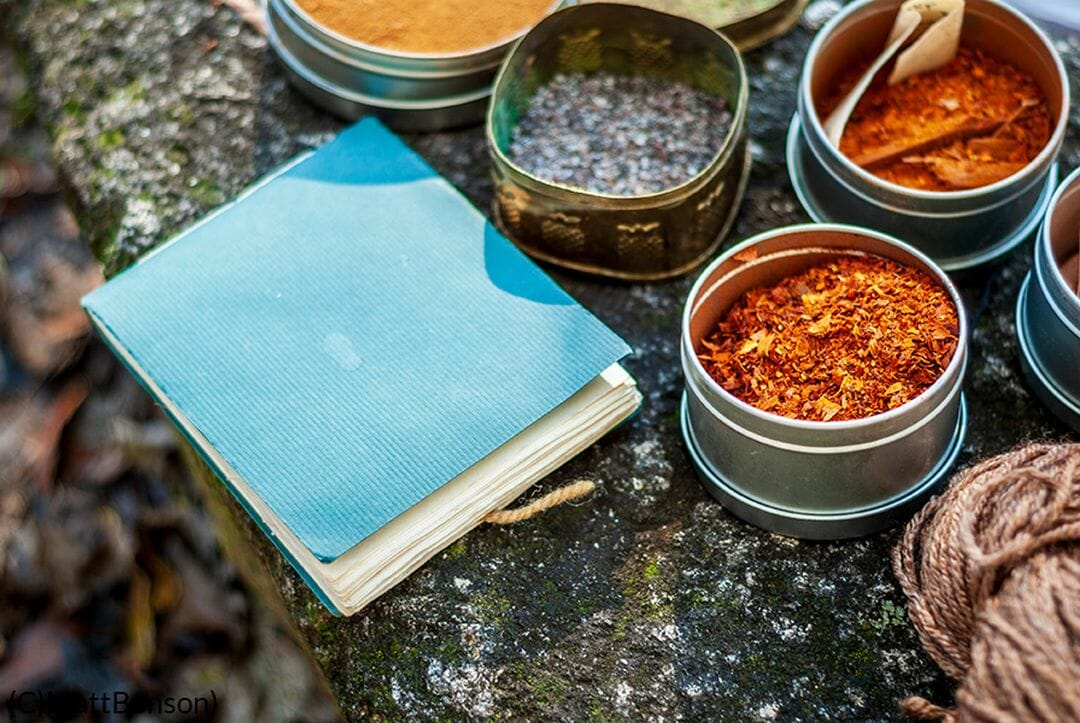 Herbs for dyeing